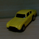 CORGI JUNIORS Aston Martin DB6 Yellow 90's diecast model vgc @SOLD@